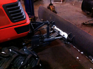 7 ft. factory ,quick hitch ,snow, blade with down pressure