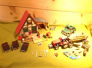 Playmobil Hunt Camp/Logging Camp Set - with Vehicles! NEW PRICE