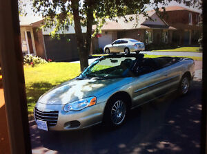 2006 Chrysler Sebring Leather Convertible