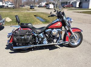 Harley Davidson ClassicCruising Motorbike 1996