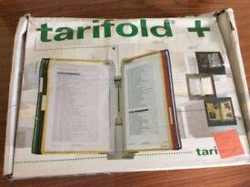 New- Tarifold DISPLAY PANEL System