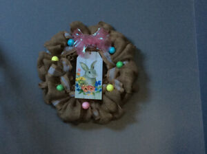 Easter and Spring Mesh Wreaths