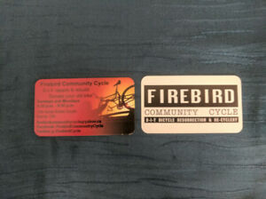 Firebird Community Cyclery Donations and Volunteers wanted