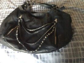 Russell and Bromley Large Black Handbag