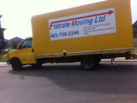 Move with Flat Rate Moving  no  hidden surcharges 2men$90hr+1TT.