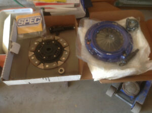 NEW SPEC CLUTCH, PRESSURE PLATE, SLAVE CYLINDER, RELEASE BEARING