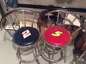 NFL and NASCAR bar tables and chairs Edmonton Edmonton Area image 2
