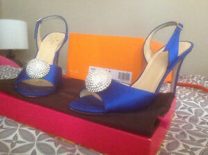 Kate Spade Satin Blue Heels /Negotiable