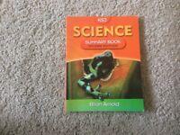KS3 science summary book