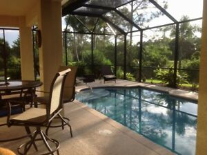 New - SW Florida Luxury 3 BDRM Pool Home -Christmas Available