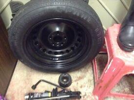 Brand new Pirelli space saver wheel