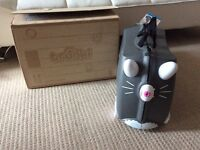 Grey Cat Children's Trunki Suitcase - NEW in box with tags