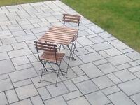 Kit de patio 2 places