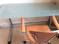 Glass desk for sale
