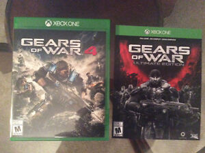 XBox One Gears of War 4 and Gears of War Ultimate Edition