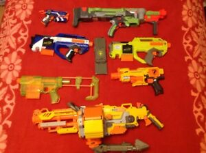 Nerf Lot (Rayven, Special edition recons, and more)