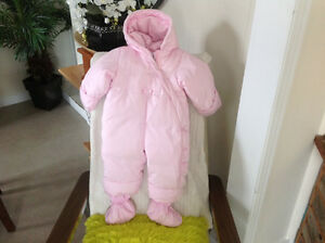 Down Filled Baby Gap Snow Suit