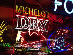 VARIOUS OLDER NEON BEER SIGNS