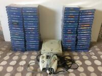 Sega Dreamcast with 79 Games