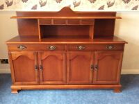 White & Newton Cherrywood Sideboard