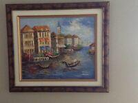 Painting tableau
