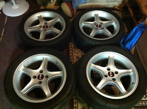 "17"" Mustang Cobra R Rims and Tires - Fits 79-93 Mustangs"