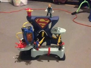 Imaginex superman and zod battle set