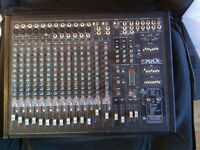YORKVILLE POWER MAX 16 MIXER (2150 WATTS) AND 2 PULSE SPEAKERS