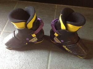 Kids ski boots: