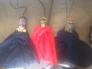 Bats, Monsters, haunted house decorations for Halloween