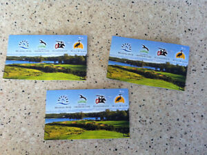 3 Corporate Passes: BRUDNELL, DUNDRAVE, CROWBUSH OR MILL RIVER