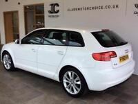 2012 Audi A3 1.6 TDI Sport Sportback 5dr Diesel white Manual
