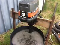 Mariner 5hp outboard 2t