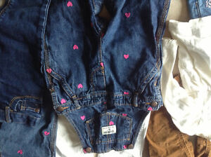 Gap warmest down coat & 24 month girls clothes London Ontario image 9