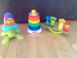 Ensemble jouets empilables