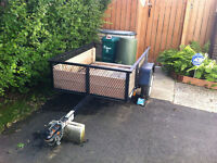 ******SOLD*****UTILITY TRAILER - 3.5' X 5'*****SOLD*****