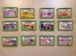 Leap frog - LeapPad / Leapster games (7 games remaining)
