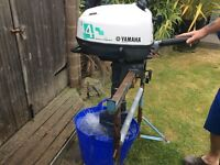 Yamaha 4hp outboard engine