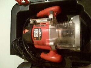 Black and decker plunge 2hp router