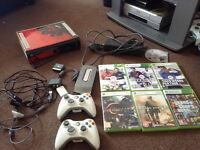 Xbox 360 with accessories and games!