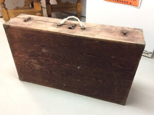 Old Carpenter's Chest and Tool Box