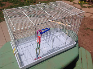"""LIKE NEW BIRD CAGE - 22""""W X 16""""H X 12""""D"""