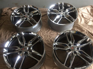 Corvette stingray wheels