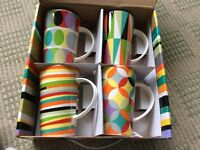 Maxwell & Williams set of 4 mugs