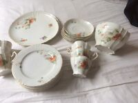 Vienna bone china tea set