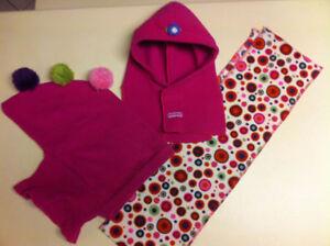 Tuques de style cagoule et foulard