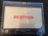 Sealed limited edition metal case bluray box set inception