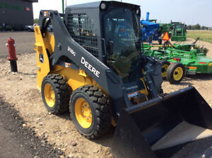 JOHN DEERE 318G SKID STEER NEW DEMO-DISCOUNTS OF $14,800