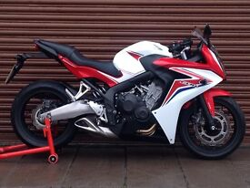 Honda CBR 650f ABS. 2015. Only 5454miles. Delivery Available *Credit & Debit Cards Accepted*