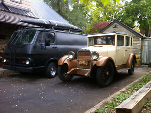 1927 HUDSON ESSEX & 1927 FORD ROADSTER 350 CHEV- $14500 each